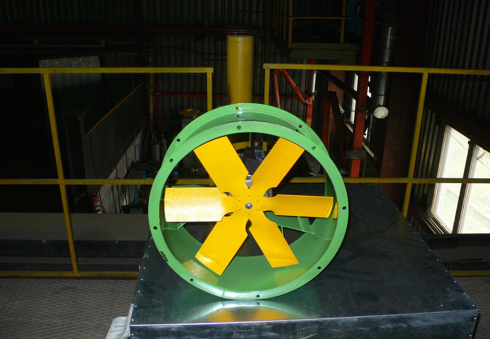 Оборудование для противодымной вентиляции